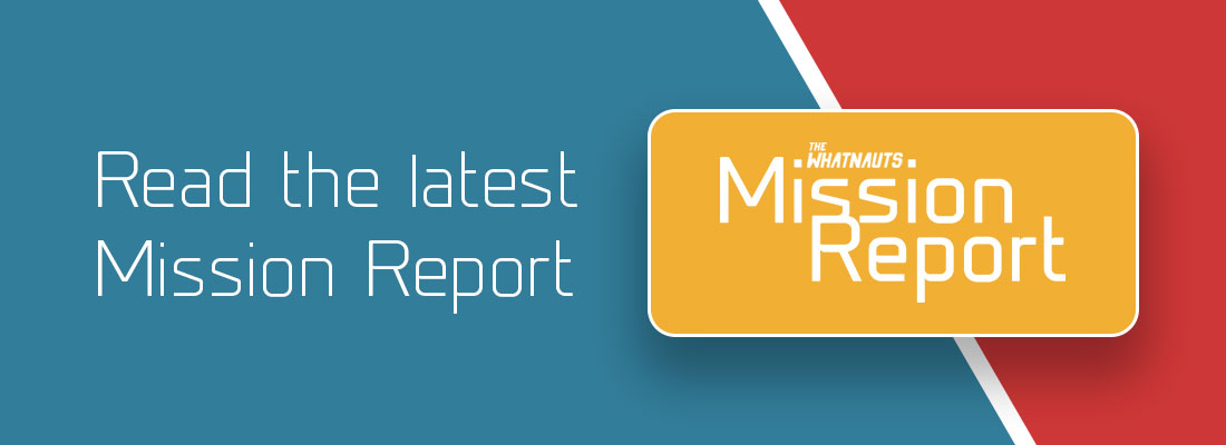 Read the latest Mission Report and stay up to date.