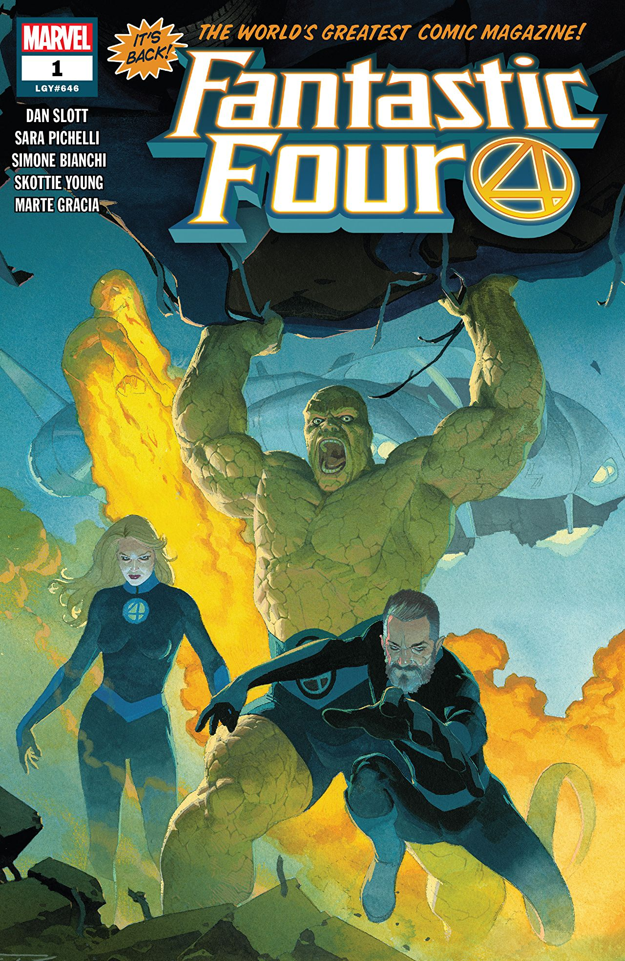 Fantastic Four issue one cover