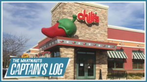 Four Hours Alone In Chilis - The Captains Log 31