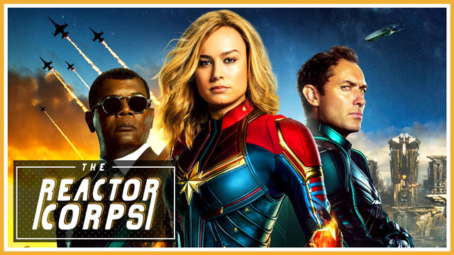 Captain Marvel Spoilercast - The Reactor Corps 06
