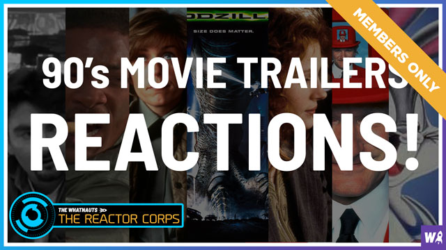 90's Movie Trailer Reactions - The Reactor Corps Exclusive