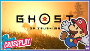 Ghost of Tsushima & Paper Mario First Impressions - Crossplay 34