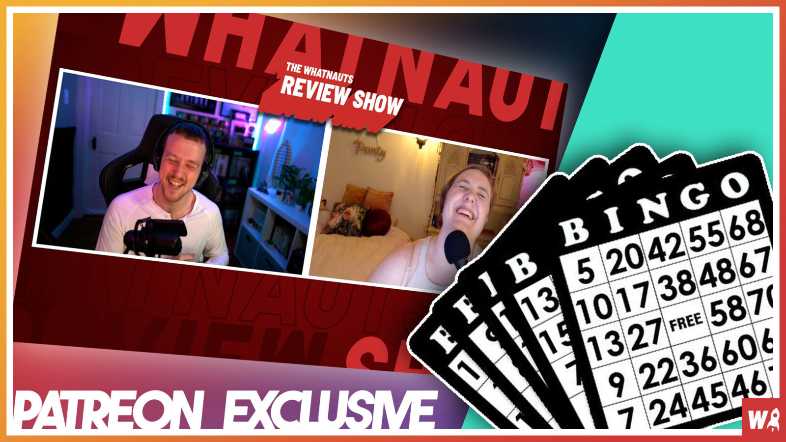 Making Bingo cards for The Review Show - Patreon Exclusive 2