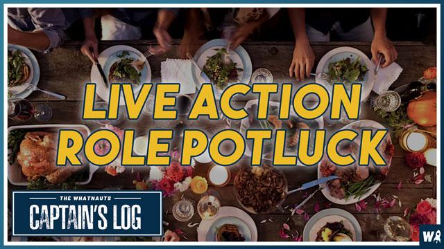 Live Action Role Potluck - The Captains Log 156