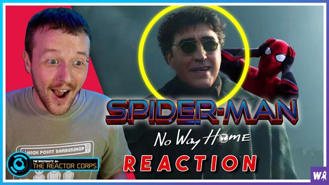 Spider-Man No Way Home Trailer Reaction