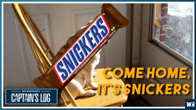 Come Home, It's Snickers - The Captains Log 164