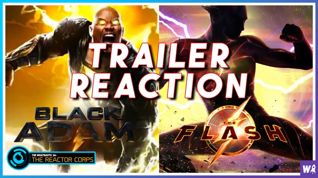 The Flash and Black Adam Teaser Trailer Reactions